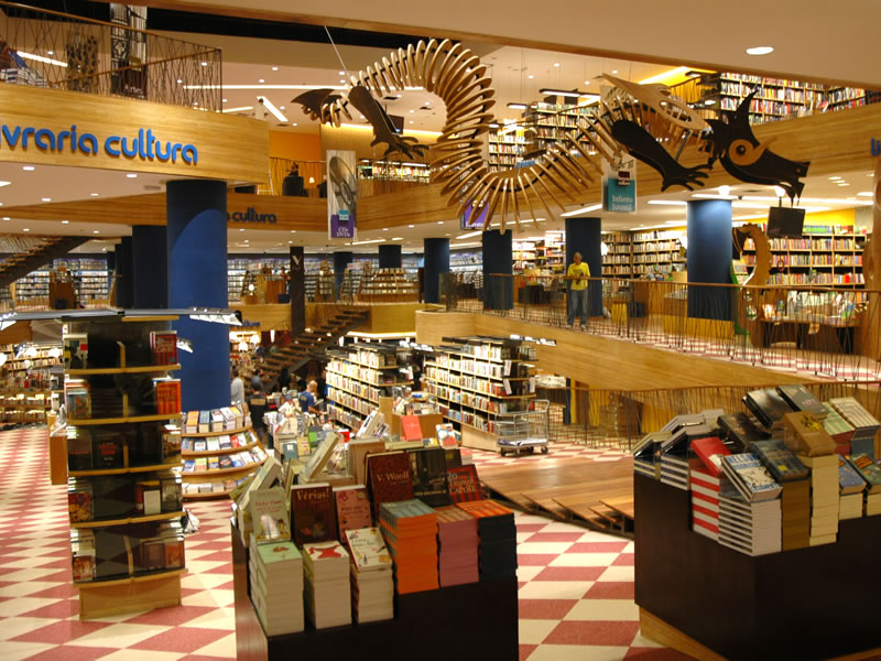 LIVRARIA CULTURA - CASAPARK SHOPPING CENTER 20adbc254ef