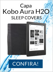 CAPA KOBO AURA H2O SLEEP COVER BLACK