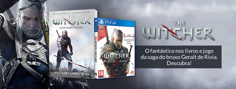 THE WITCHER - livros
