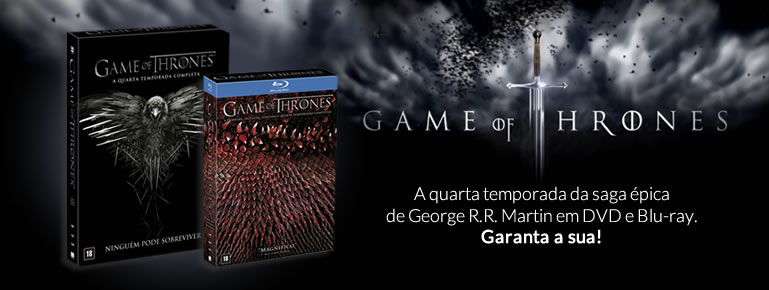 Pré-venda GAME OF THRONES - 4ª TEMPORADA COMPLETA