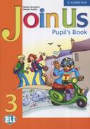 JOIN US 3 - PUPIL'S BOOK