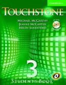 TOUCHSTONE 3 - STUDENT'S BOOK W/ CD-AUDIO/CD-ROM