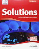 SOLUTIONS - PRE-INTERMEDIATE - STUDENTS BOOK