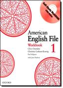 AMERICAN ENGLISH FILE 1 WORKBOOK + MULTI-ROM PACK