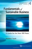 FUNDAMENTALS OF SUSTAINABLE BUSINESS