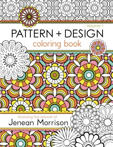 PATTERN DESIGN COLORING BOOK