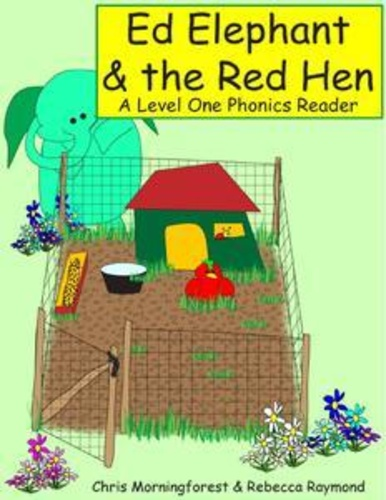 ed-elephant-the-red-hen-a-level-one-phonics