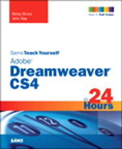 sams-teach-yourself-adobe-dreamweaver-cs4-in-24