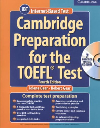 CAMBRIDGE PREPARATION FOR THE TOEFL TEST- COMPLETE