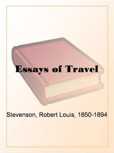 essays-of-travel