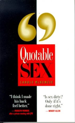 quotable sex