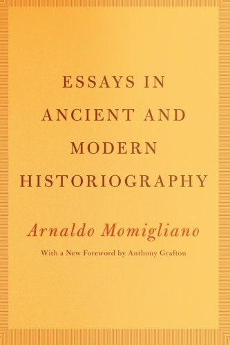 Essays in ancient and modern historiography