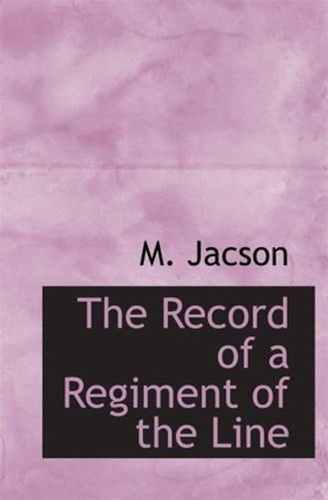 record-of-a-regiment-of-the-line-the