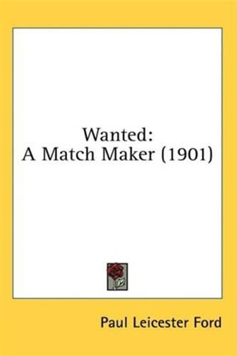 wanted-a-match-maker