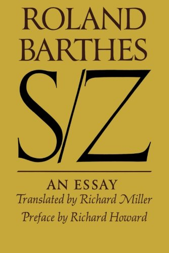 Barthes s z an essay