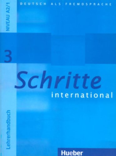 Schritte international 3 kennenlernen test