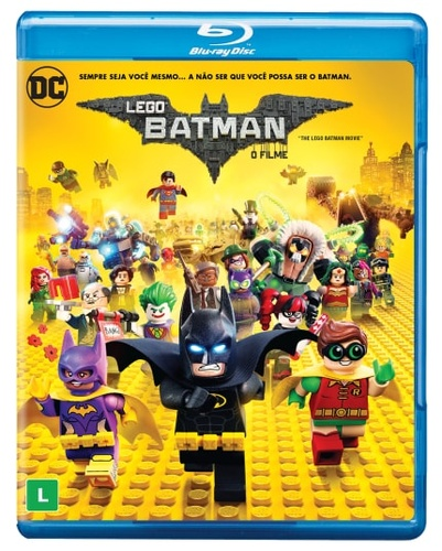 Lego Batman O Filme ( blu - ray )