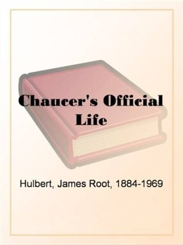 chaucer-official-life