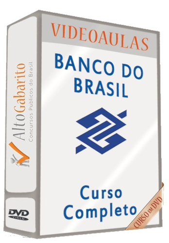 curso preparatorio completo - banco do brasil - 2000150724786 ( DVD )