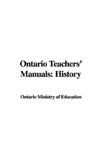 ontario-teachers-manuals-history