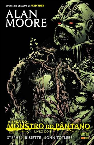 A Saga do Monstro do Pântano Livro 2 - Alan Moore