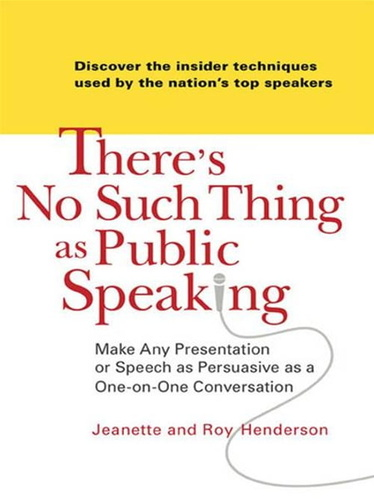 there-such-thing-as-public-speaking