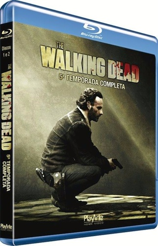 Walking Dead, The - 5 Temporada ( blu - ray ) ( DVD )