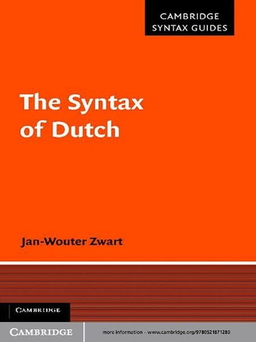 syntax-of-dutch-the