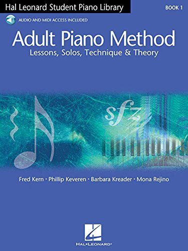 Piano book for adult