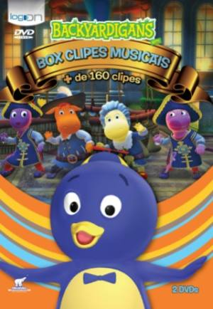 dvd infantil backyardigans clipes musicais