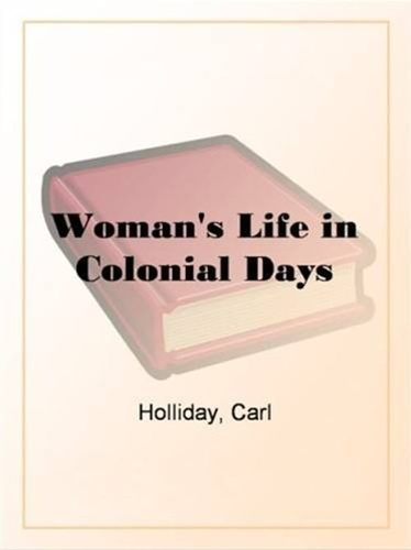 woman-life-in-colonial-days