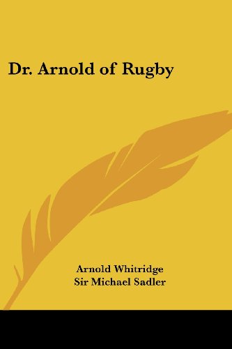 dr arnold of rugby