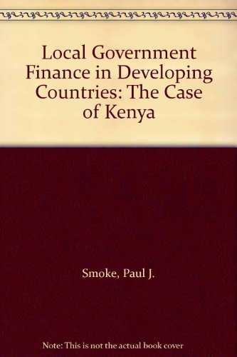 local-government-finance-in-developing-countries