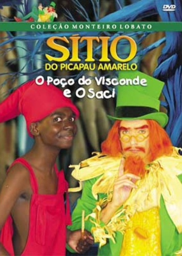 sitio do pica pau amarelo, poço do visconde e saci - 7891430005894 ( DVD )