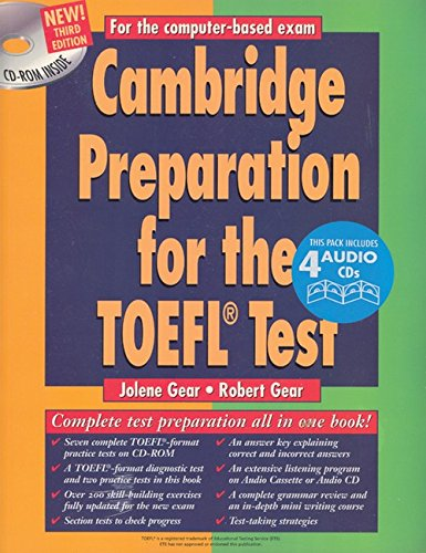 CAMBRIDGE PREPARATION FOR THE TOEFL TEST-COMPLETE