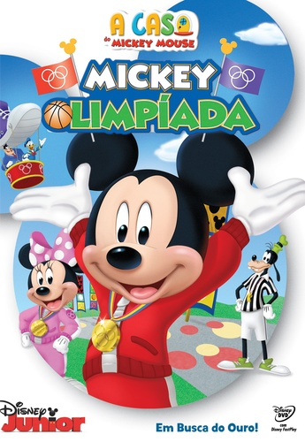 casa do mickey mouse, a - mickey olimpiada