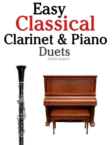 Easy classical clarinet amp piano duets