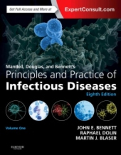 MANDELL, DOUGLAS, AND BENNETTS PRINCIPLES AND PRACTICE OF INFECTIOUS  DISEASES