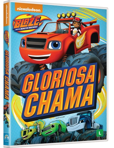 7d020d05cf Filme  BLAZE AND THE MONSTER MACHINES - GLORIOSA CHAMA