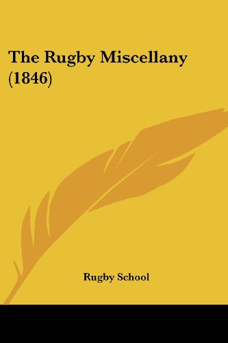 rugby miscellany, the
