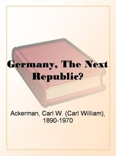 germany-the-next-republic