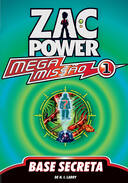 Livro - ZAC POWER - BASE SECRETA