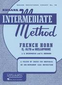 RUBANK INTERMEDIATE METHOD - FRENCH HORN IN F OR E