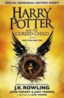 Livro - HARRY POTTER AND THE CURSED CHILD. PTS.1 + 2