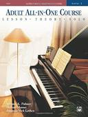 Livro - ALFREDS BASIC ADULT ALL-IN-ONE PIANO COURSE LEVEL