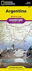 NATIONAL GEOGRAPHIC ADVENTURE MAPS ARGENTINA