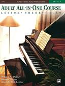 Livro - ALFREDS BASIC ADULT ALL-IN-ONE PIANO COURSE