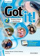 Livro - GOT IT! 2 - STUDENT'S PACK WITH DIGITAL WORKBOOK