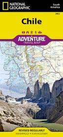 Livro - NATIONAL GEOGRAPHIC ADVENTURE MAPS CHILE