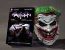 Livro - BATMAN - DEATH OF THE FAMILY MASK AND BOOK SET